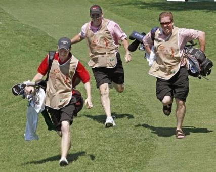 Caddie races