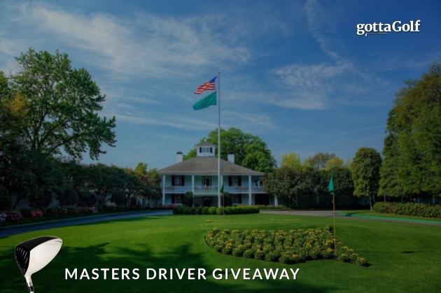 Masters Driver Giveaway - with logo